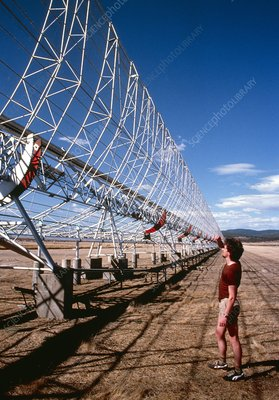The Mills Cross radio telescope at Molongo