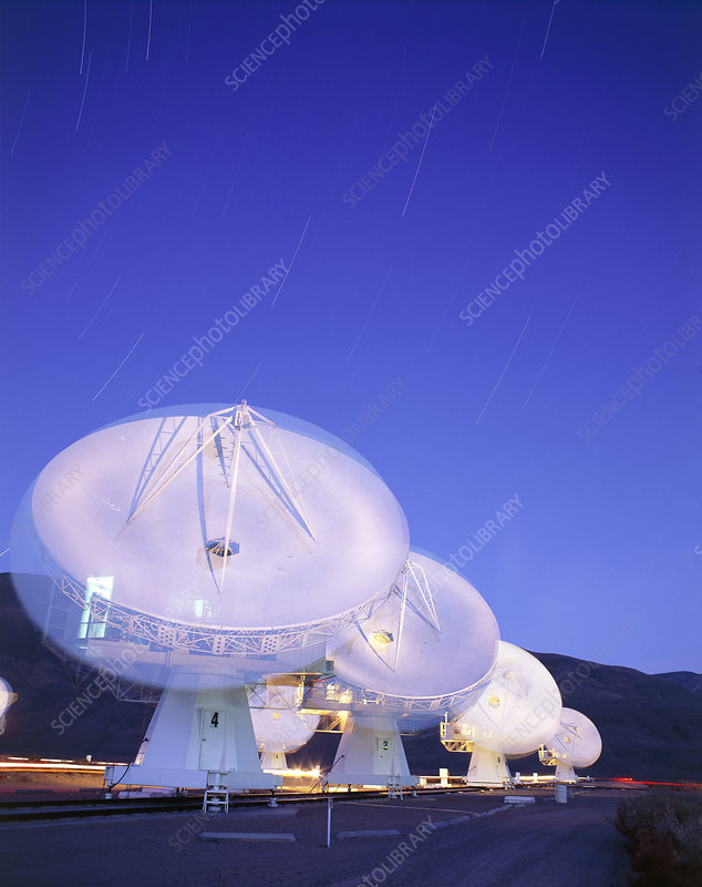 Caltech millimetre telescopes, Owens Valley, USA