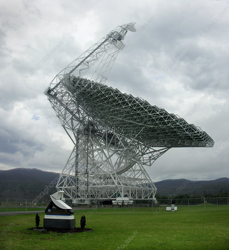 Green Bank radio telescope, West Virginia