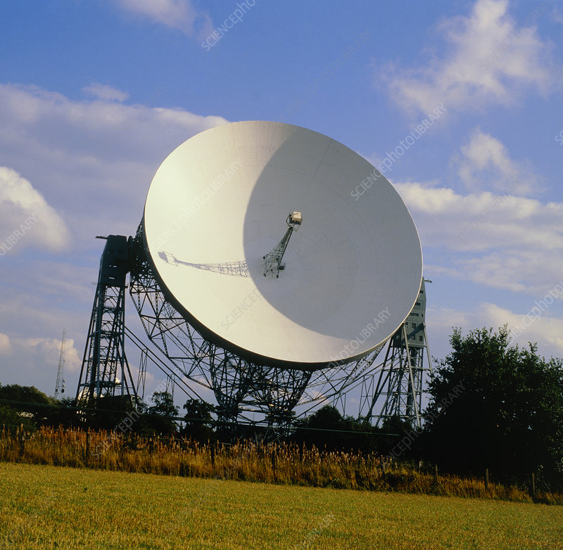Mark 1A radio telescope, Jodrell Bank, Cheshire UK