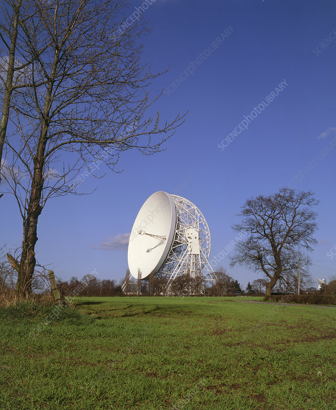 Lovell Radio Telescope dish at Jodrell Bank