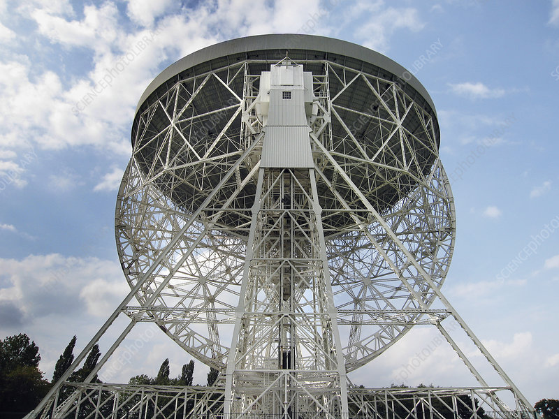 Lovell radio telescope dish, Jodrell Bank
