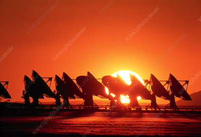 Very Large Array antennae