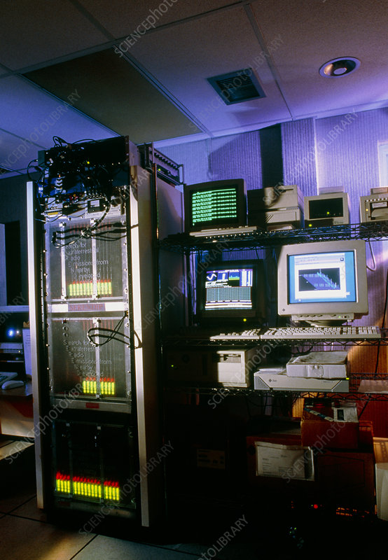 View of the control room at SERENDIP