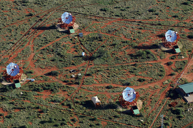 HESS gamma ray telescope array, Namibia