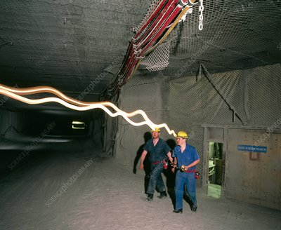 Boulby Mine, site of a WIMP detector