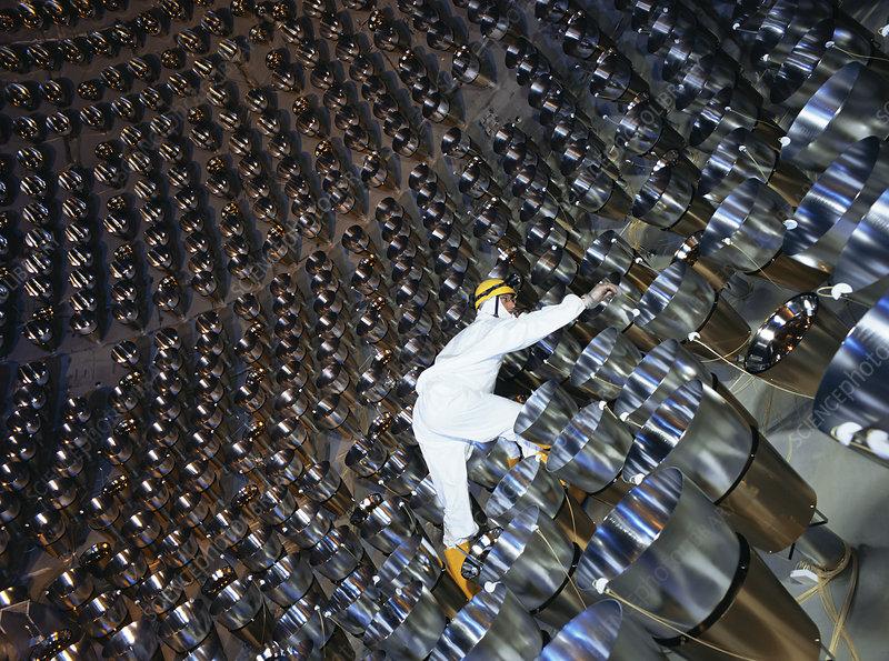 Neutrino Detector Stock Image R188 0056 Science Photo