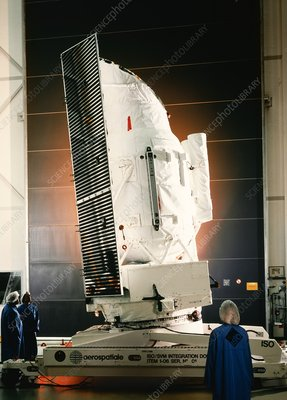 Infrared Space Observatory (ISO) satellite