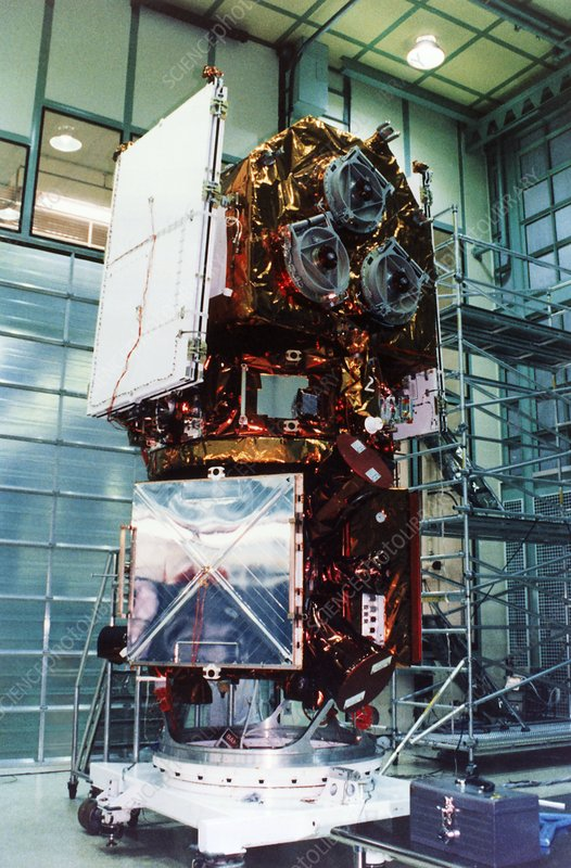 EUVE spacecraft prior to launch