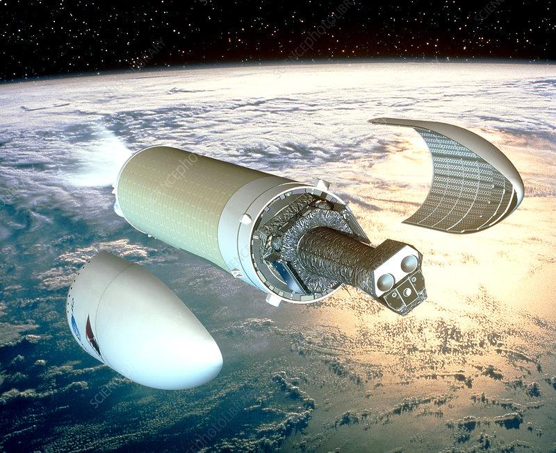 XMM-Newton telescope deployment