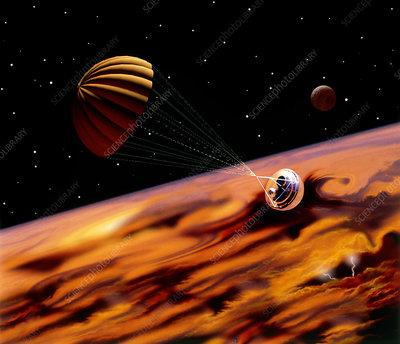 Galileo probe jupiter