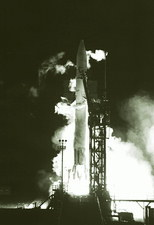 Launch of the Pioneer 10 spacecraft to Jupiter