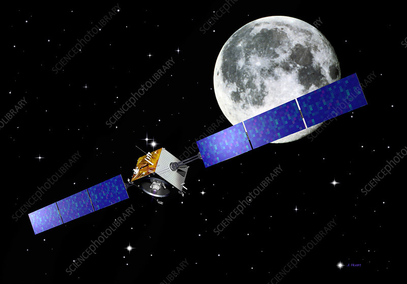 SMART-1 lunar spacecraft