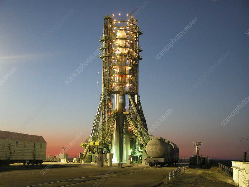 Venus Express rocket before launch