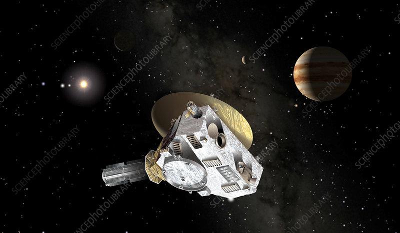 new horizons spacecraft speed - photo #38
