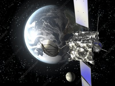 Rosetta space probe, artwork
