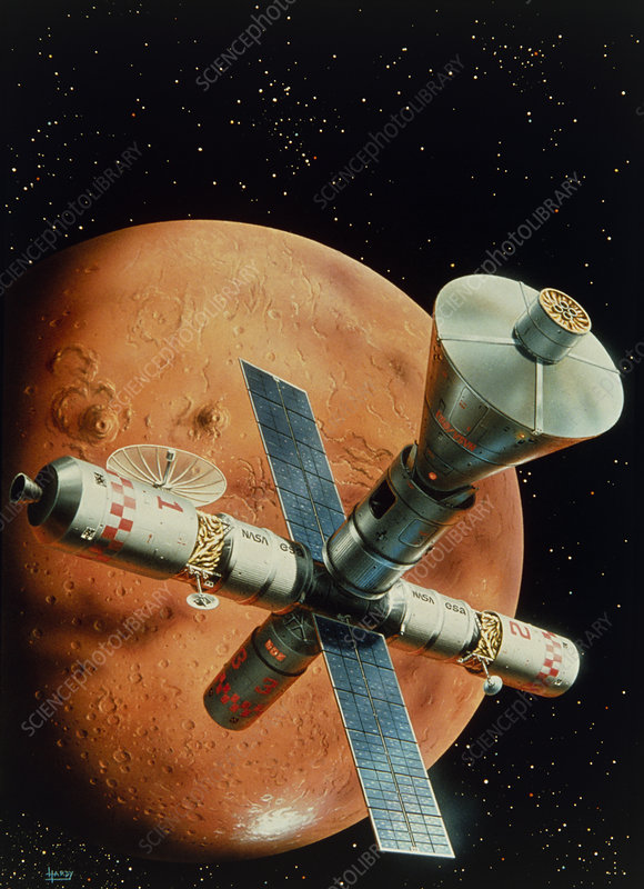 Mission to Mars art
