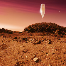 Mars balloon exploration