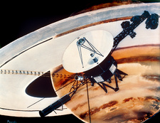 Voyager spacecraft at Saturn