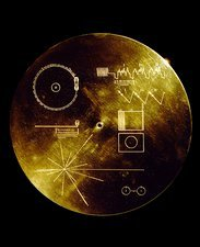 Voyager spacecraft plaque