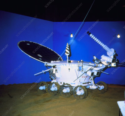 Lunokhod, the unmanned Soviet lunar vehicle