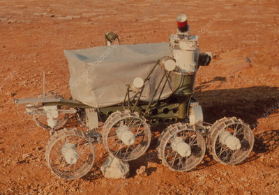Model of Lunokhod 1 ,remote control lunar rover
