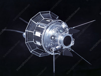 Model of the Luna 3 spacecraft