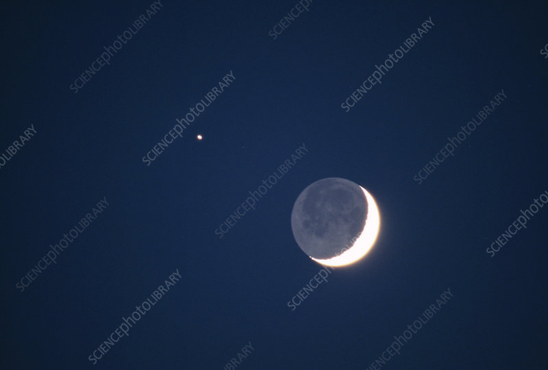 Moon-Jupiter conjunction