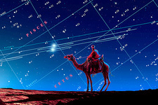 Christmas star as planetary conjunction