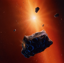 Planetesimal asteroids in the early solar system