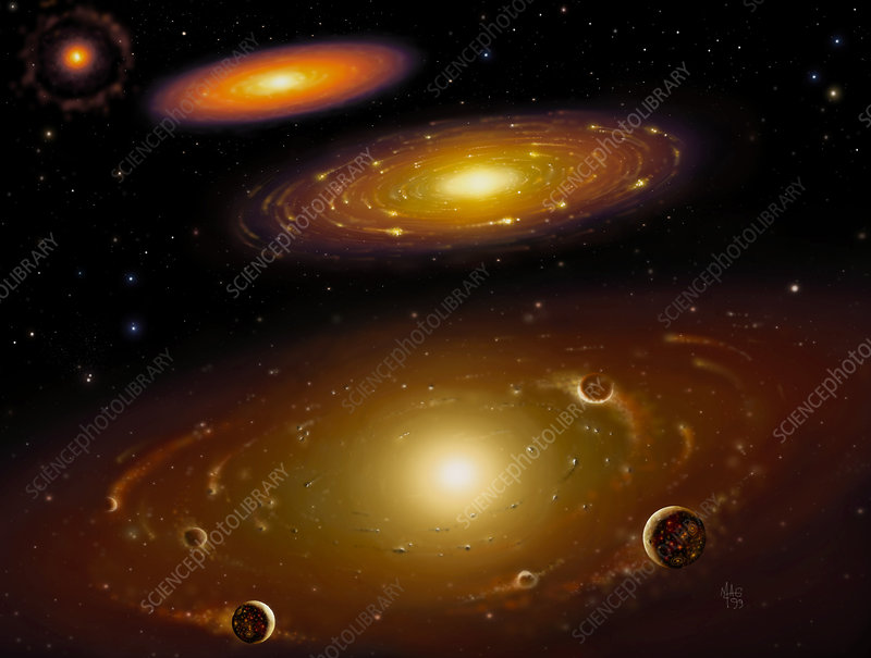 sun solar nebula forms - photo #14