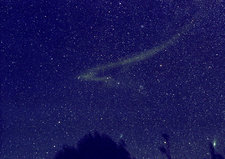 Leonid Meteor Dust Trail
