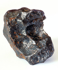 Fragment of an iron meteorite