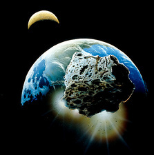 Asteroid heading toward Earth being deflected