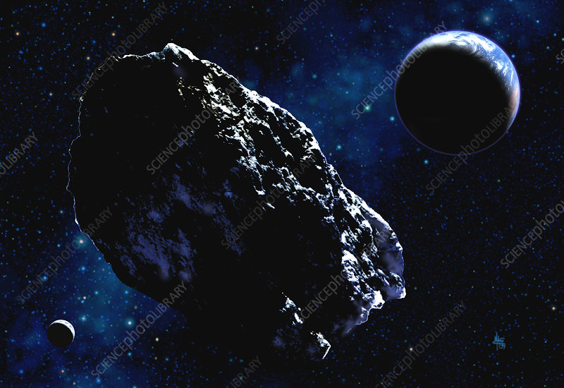 Earthbound asteroid