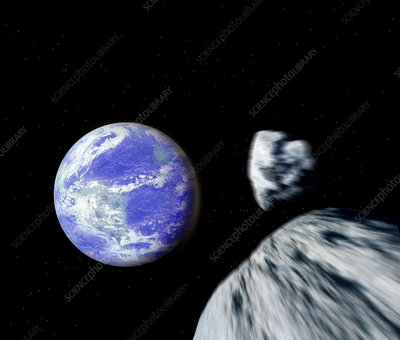 Asteroids approaching Earth