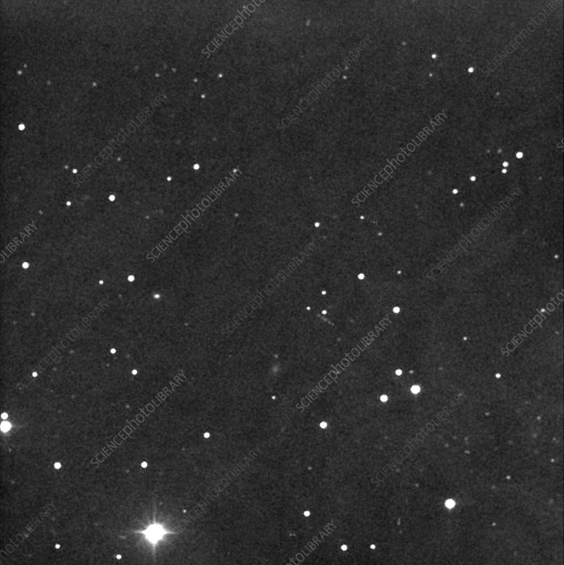 Near-Earth asteroid Apophis, 30/12/2004 - Stock Image R310 ...