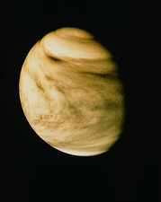 Pioneer-Venus Orbiter photo of Venus
