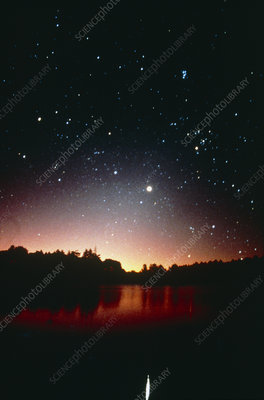 Venus, Auriga, Taurus & Pleiades at dawn