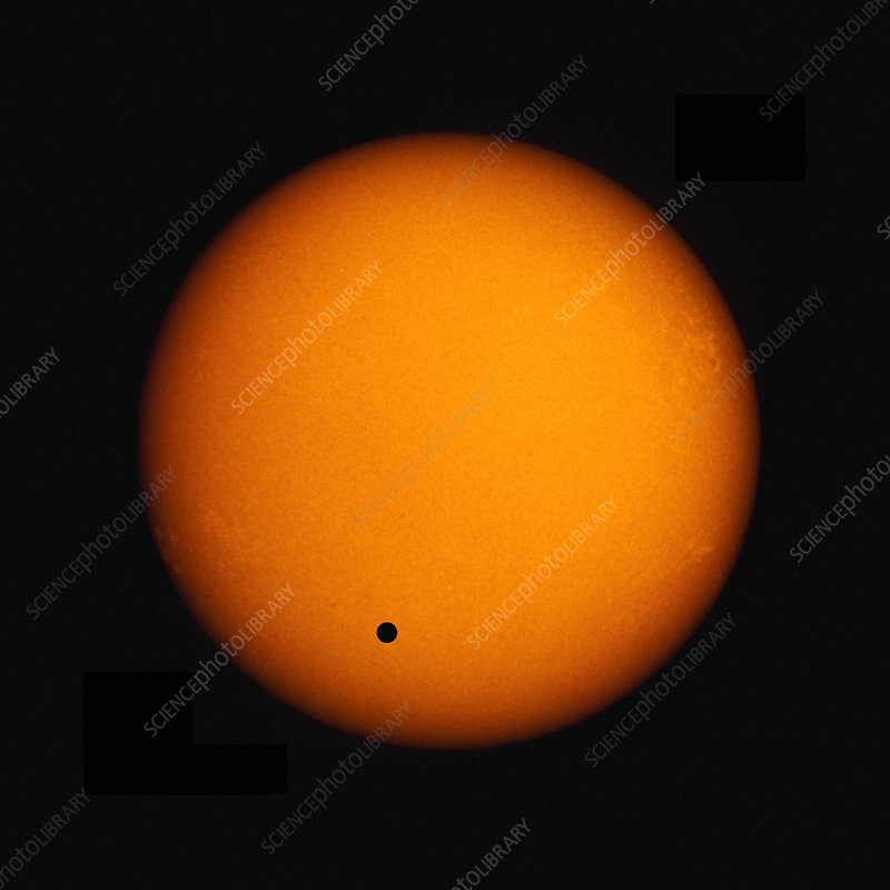 Transit of Venus, computer artwork
