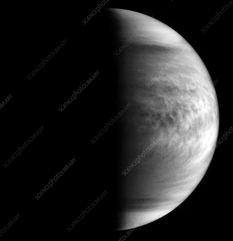 Pioneer-Venus, cloud patterns 10/4/79 at 16.16