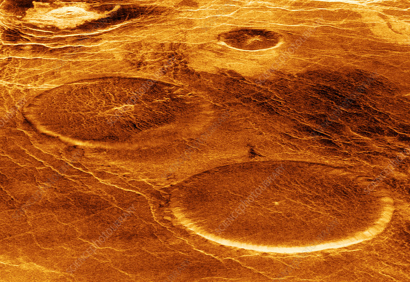 Volcanoes on Venus
