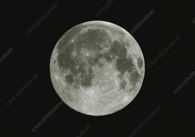 Optical image of the full Moon
