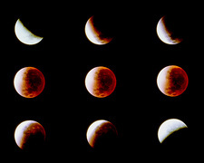 The total lunar eclipse of November 29 1993