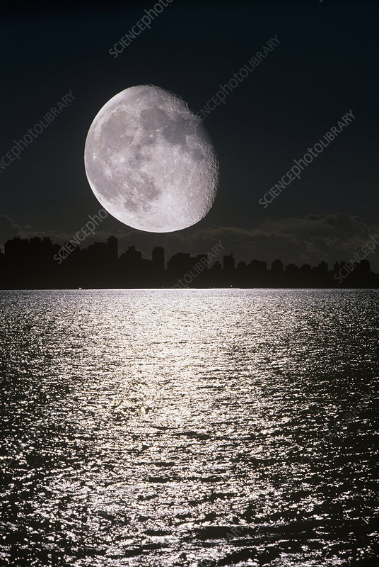 Waning Gibbous Moon Stock Image R3400769 Science Photo Library