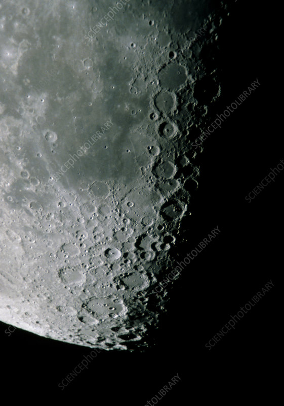 Moon surface detail