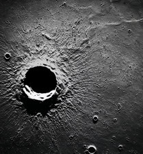 Crater Timocharis on the Moon