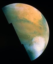 Hellas mosaic image of Mars