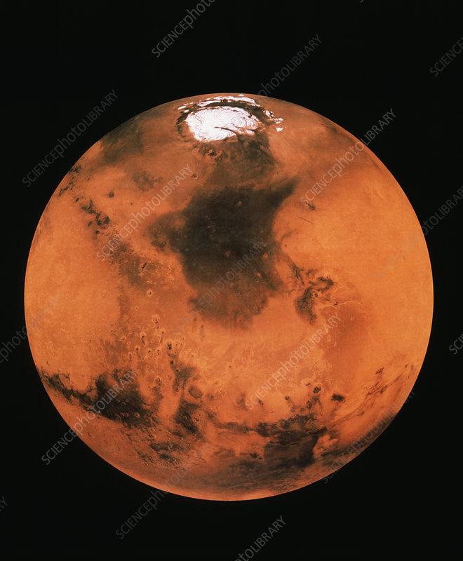Mars northern hemisphere