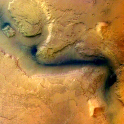 Martian surface
